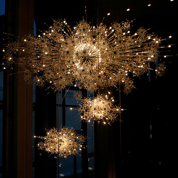 Chandelier Sputnik - Swarovski Crystals