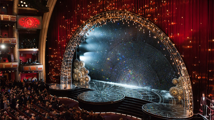Academy Awards 2015 stage