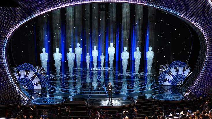 Oscars 2017 stage