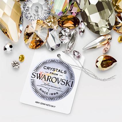 pieczęć Swarovski