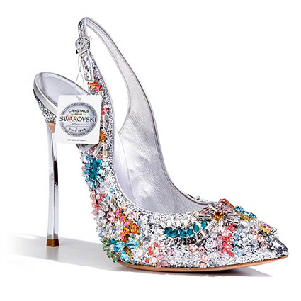 Swarovski shoes