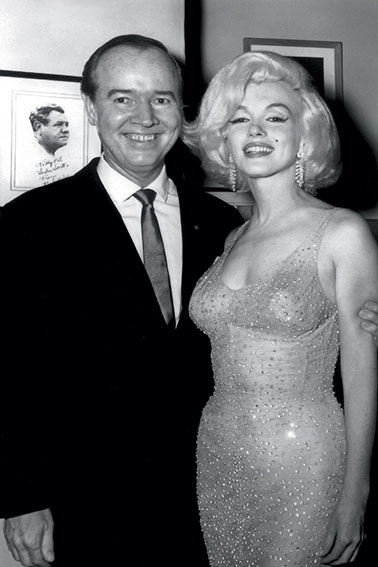 Marylin Monroe Swarovski dress