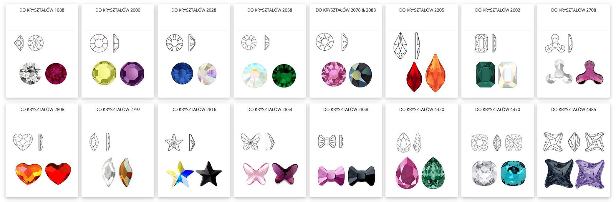 Półfabrykaty do biżuterii