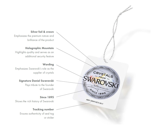 Swarovski seal description
