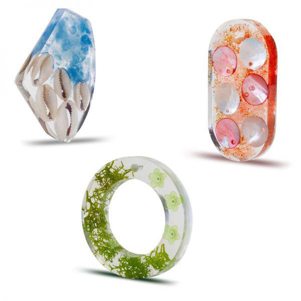 Formy silikonowe do biżuterii z żywicy