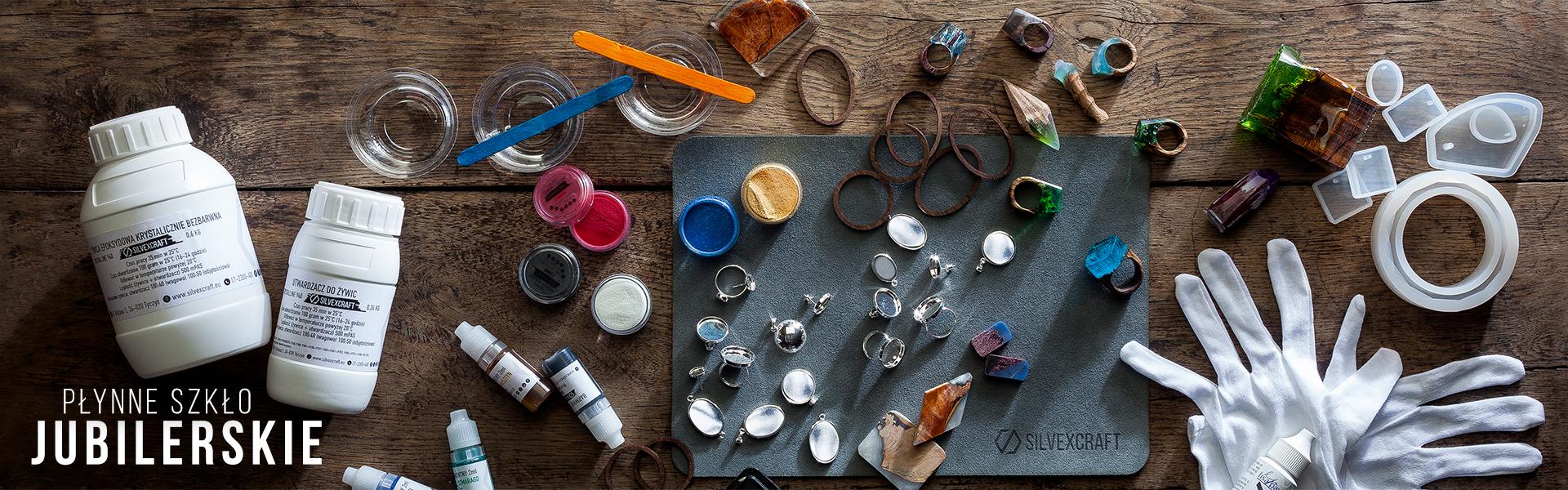 Żywica do biżuterii - sklep z półfabrykatami