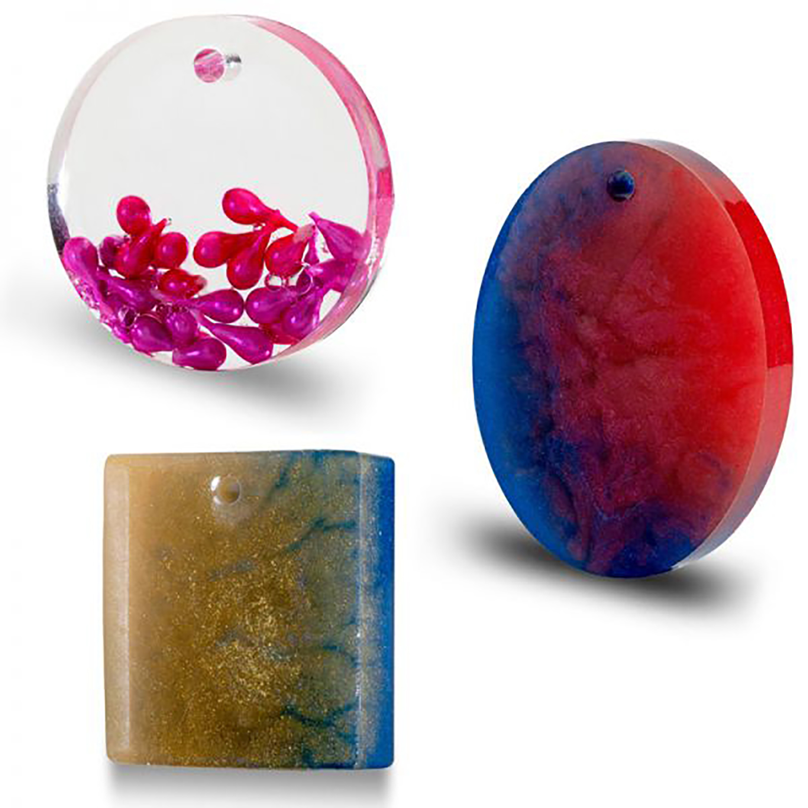 PENDANT CABOCHONS SILICONE MOULDS FOR EPOXY RESIN-5