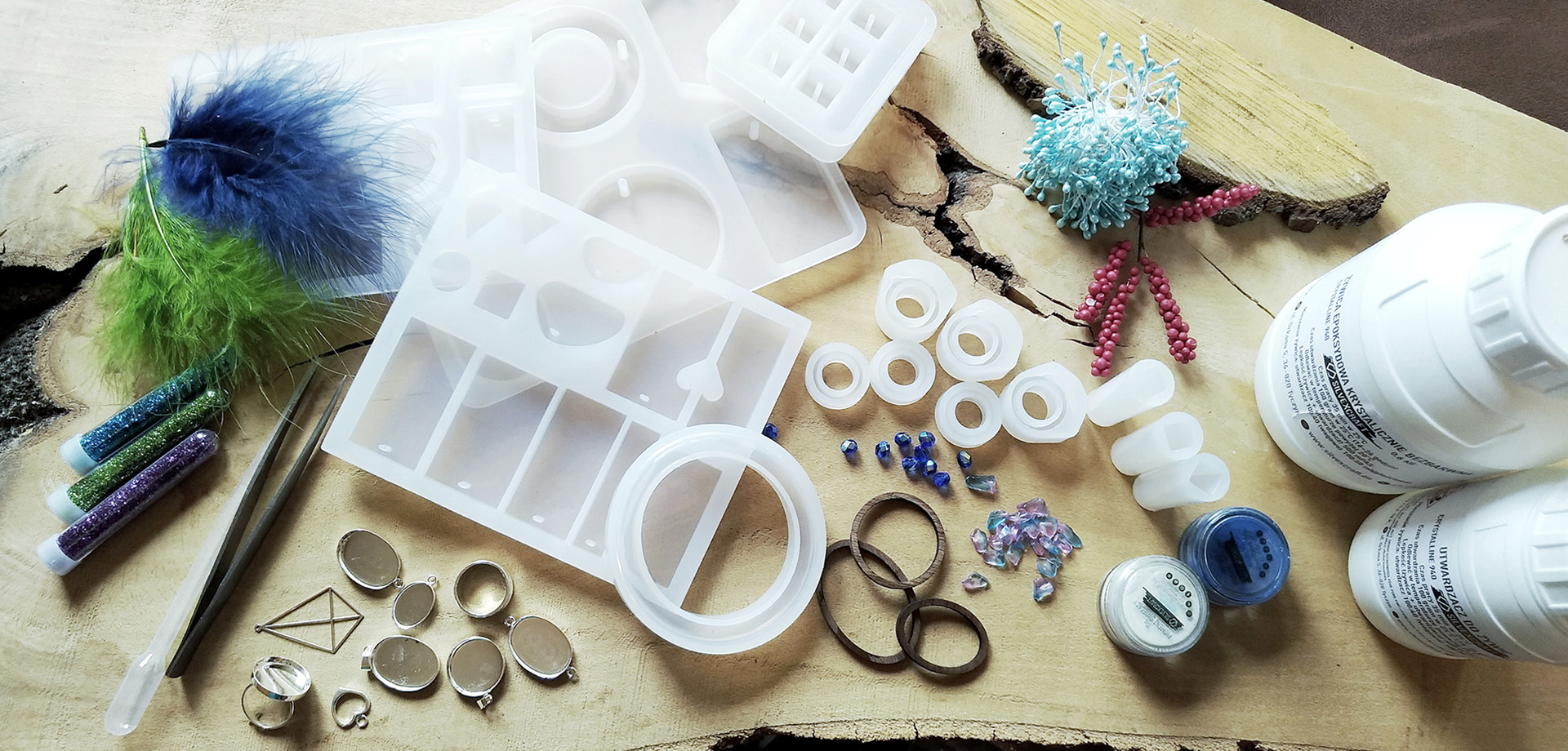 SILICONE MOULDS FOR EPOXY RESIN