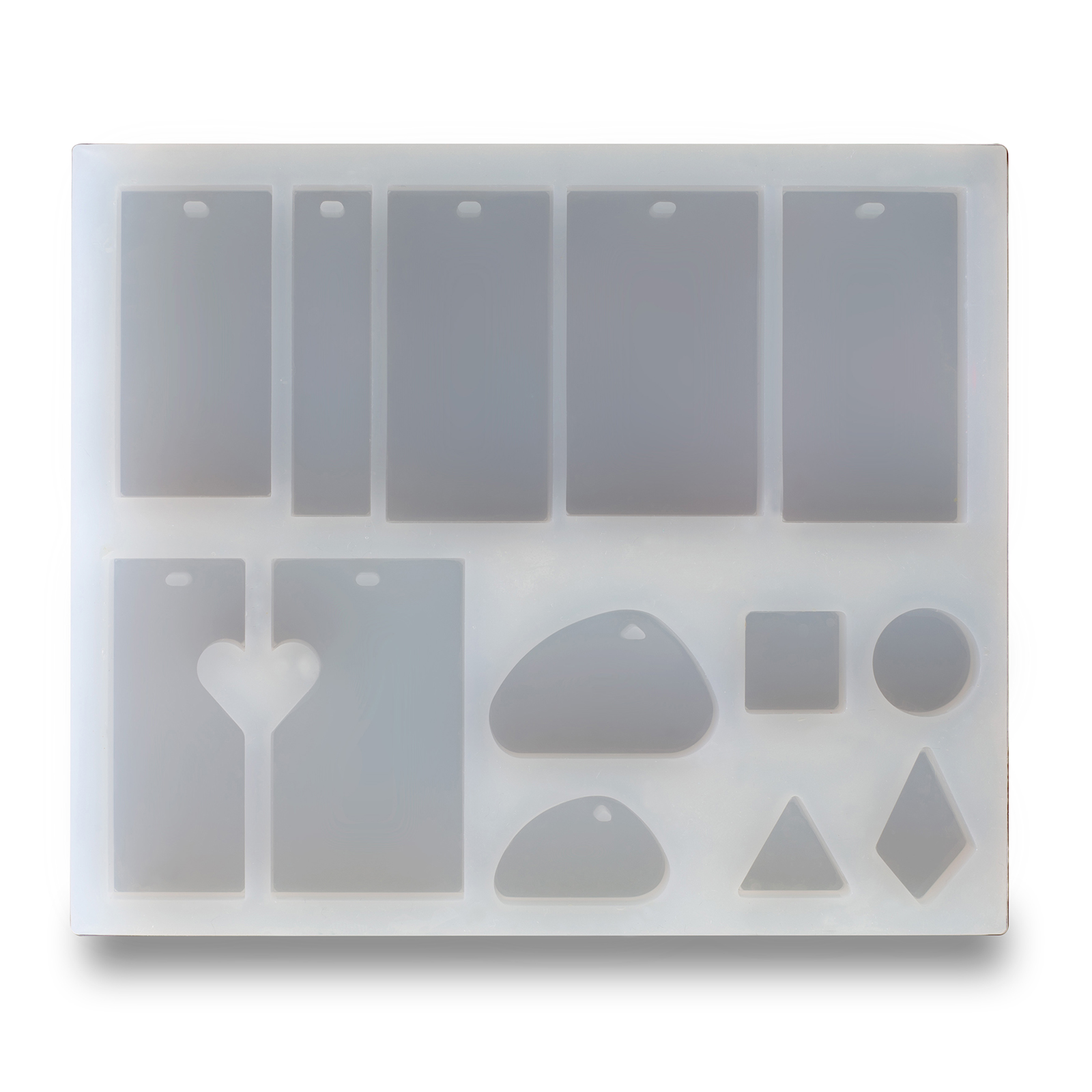 PENDANT CABOCHONS SILICONE MOULDS FOR EPOXY RESIN-6