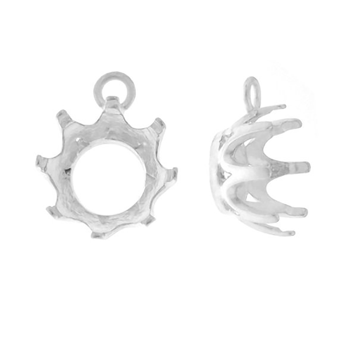 CHARMS WITH ZIRCONIA