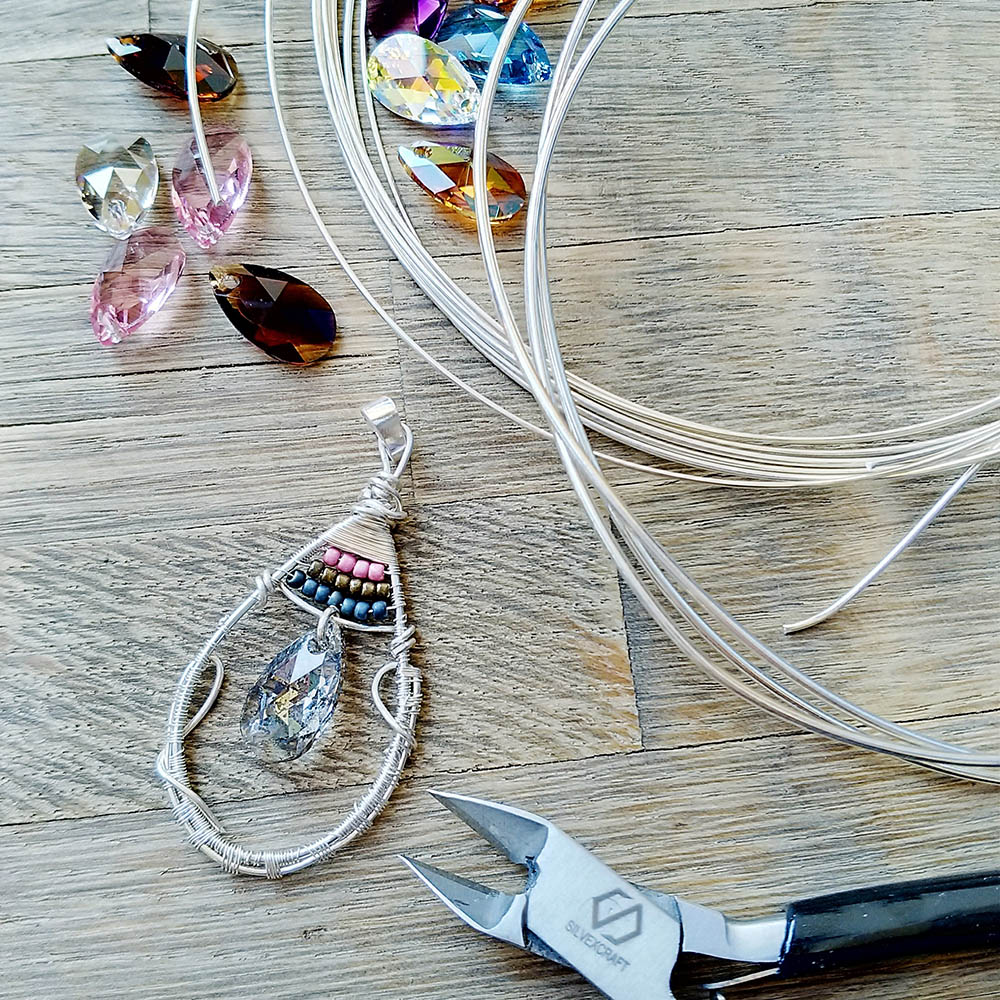 WIRE WRAPPING DIY