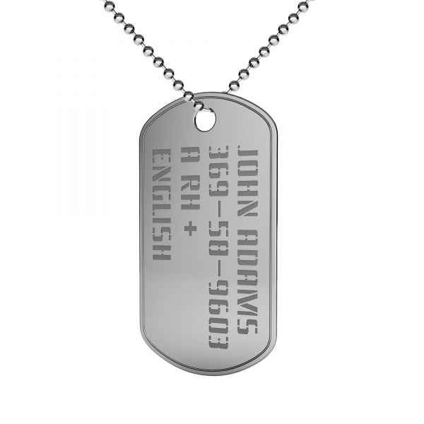 PENDANT FOR ENGRAVING