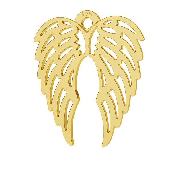 GOLD PLATED WINGS PENDANT