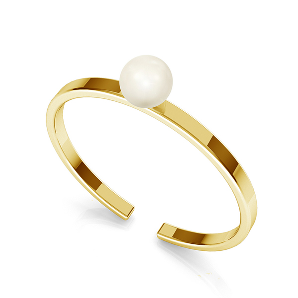 GOLD JEWELRY WITH PEARLS