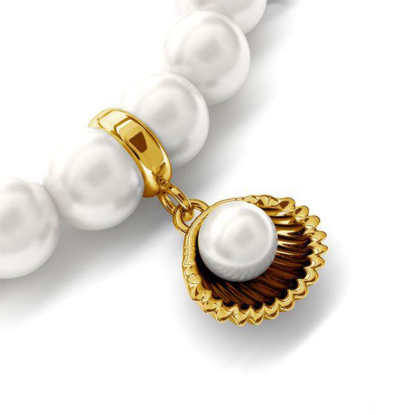 złota bransoletka z charmsami