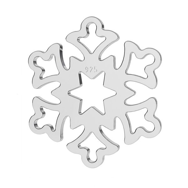 snowflake pendant necklace
