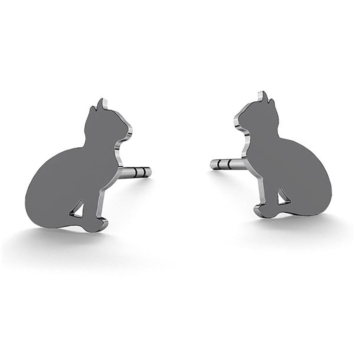 kolczyki koty