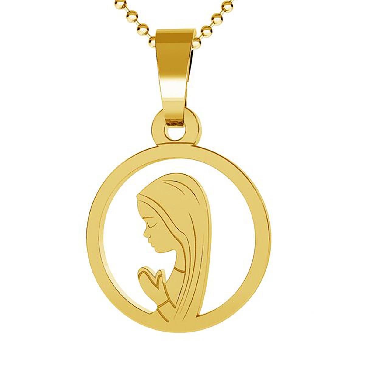 medalik z Matką Boską Fatimską