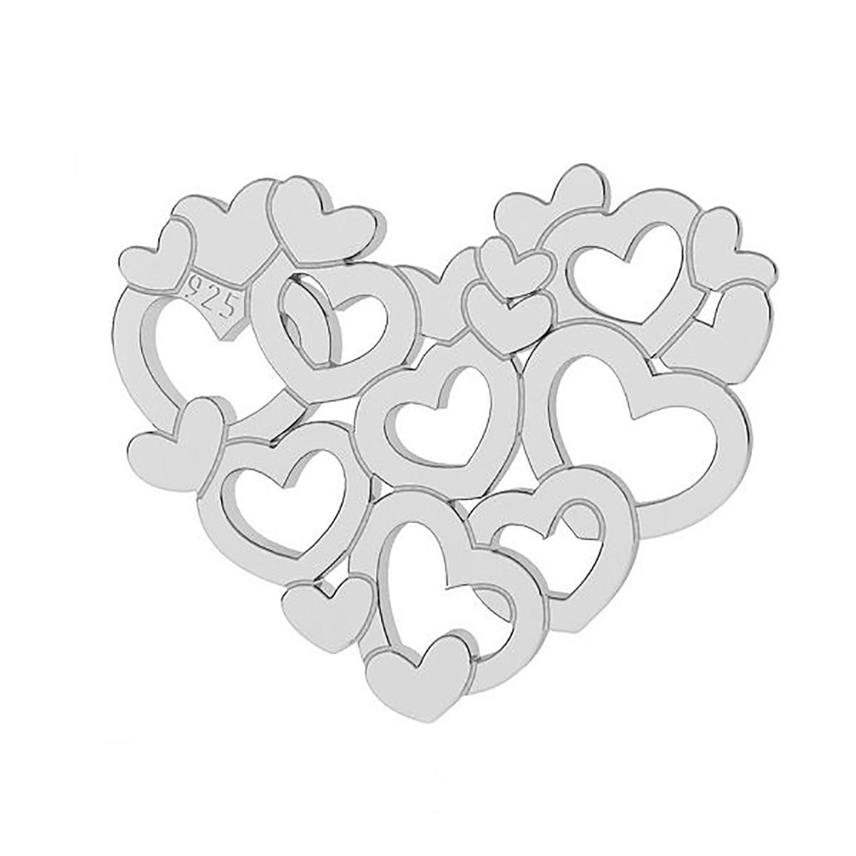 heart shape pendant