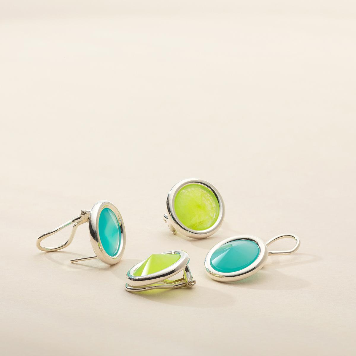 biżuteria srebrna z kamieniami