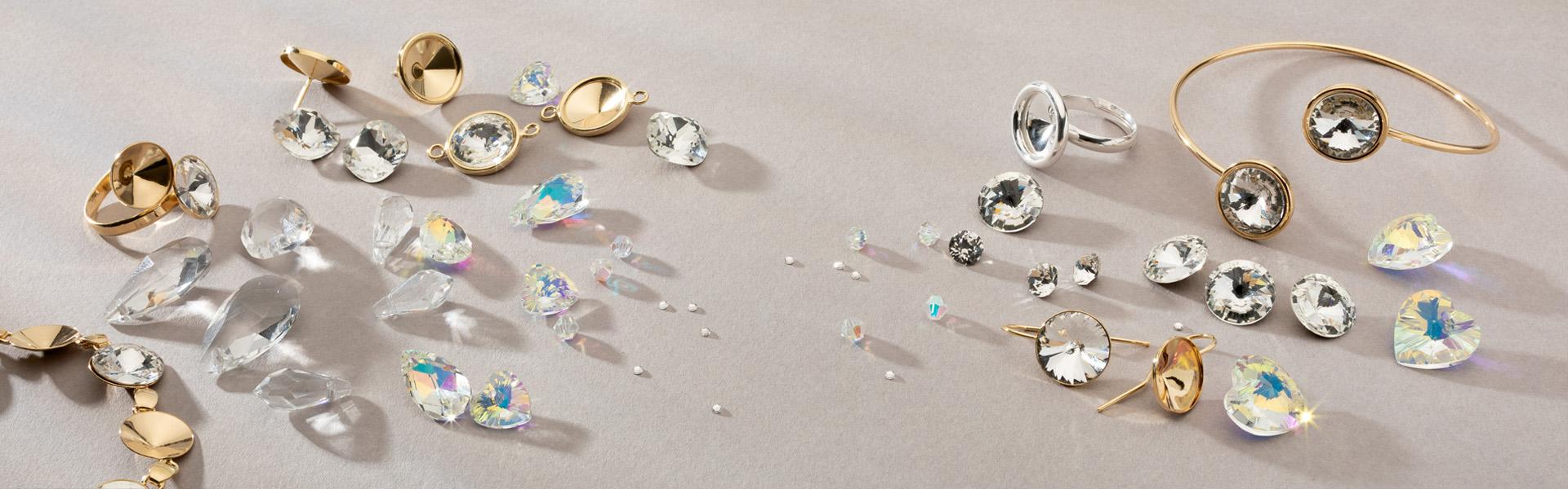 kryształki do biżuterii