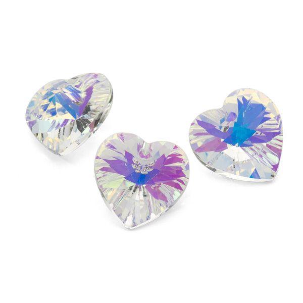 kryształowa zawieszka do biżuterii serce