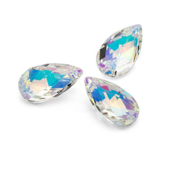 aurora effect in crystals