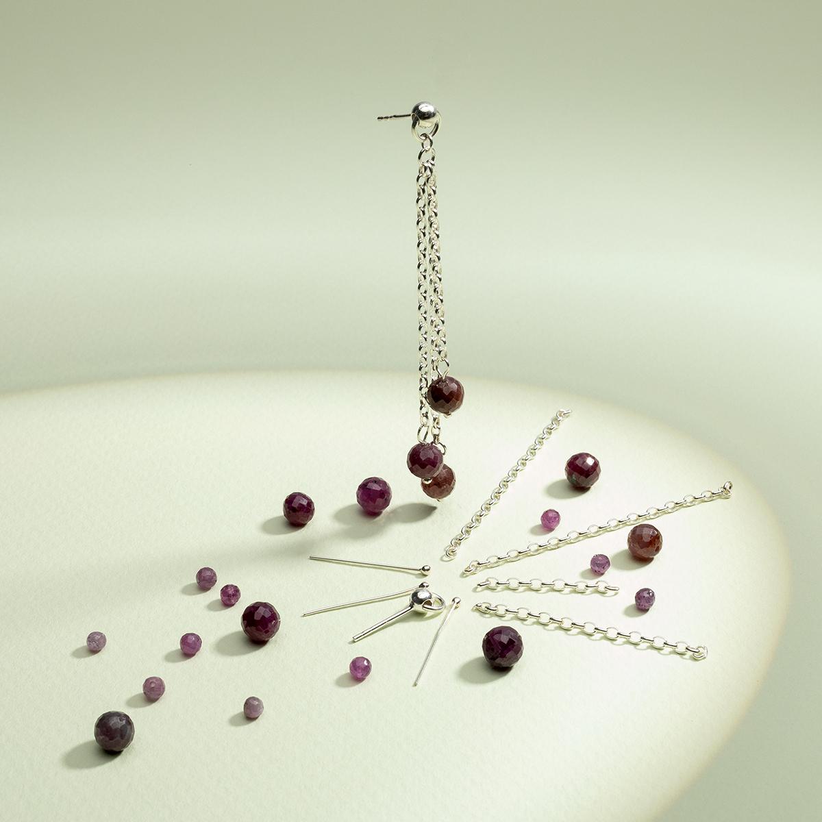 półfabrykaty do biżuterii srebrne